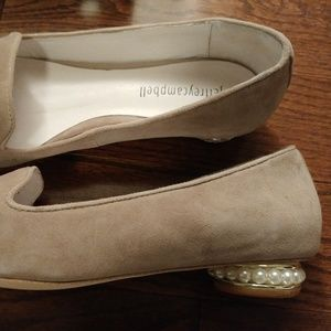 Jeffrey Campbell Shoes - Brand New Jeffrey Campbell Suede Pearl-Heel Flats.